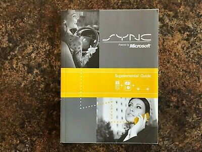 2008 2009 Lincoln SYNC Owners Manual Supplement - MKX MKT MKS MKZ Navigator 2009 Sync