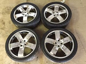 "4 18"" rims and tires *price reduced*"