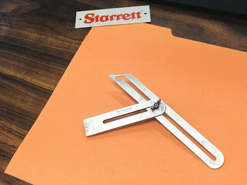 STARRETT NO. 47 IMPROVED UNIVERSAL BEVEL.  MADE IN THE USA.