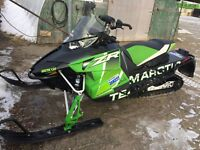 """2016 Arctic Cat ZR 6000 129"""" R XC Guelph Ontario Preview"""