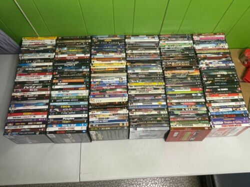 100 assorted used DVD LOT all genre * movie bulk wholesale for resale