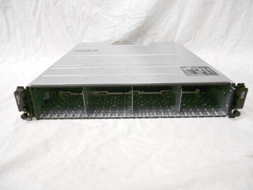 "Dell Equallogic PS6100 ISCSI SAN Storage Chassis 24x 2.5"" Hard Drive Bay 2x PS"