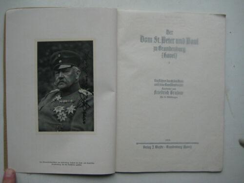 Brandenburg an der Havel Dom St. Peter und Paul Grasow 1924 Domkapitel Führer
