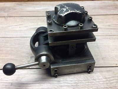 Hardinge Model A Quick Index 4 Way Tool Post