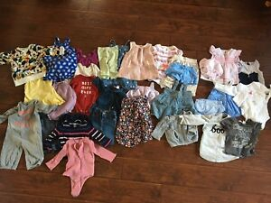 Baby clothes 3 months to 2 yrs (gap, H&M, old navy, etc.)