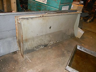 Clausing Colchester Backsplash Guard For 17 Inch Lathe 69 Inches Long