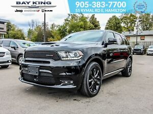 2018 Dodge Durango R/T AWD, BACK UP CAM, REMOTE START, SUNROOF