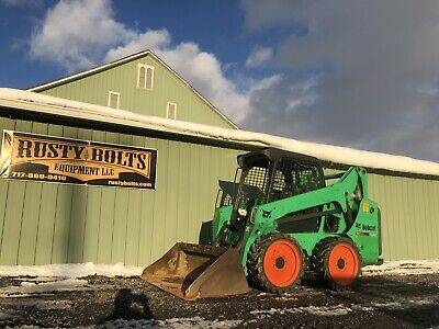 2013 Bobcat S530 Skid Steer Loader Pre Emissions Kubota Diesel Cheap Shipping