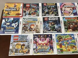 Nintendo 3DS games for sale!