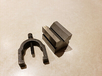 Bs Brown Sharpe V-blocks Machinist Work Hold Tools 750 A