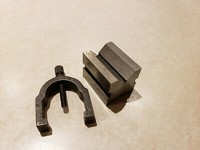 Bs Brown Sharpe V-blocks Machinist Work Hold Tools 750 A