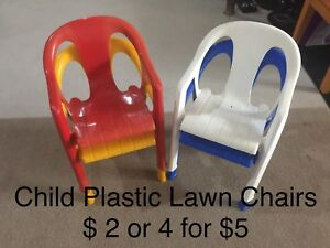 Child Plastic Lawn Chairs