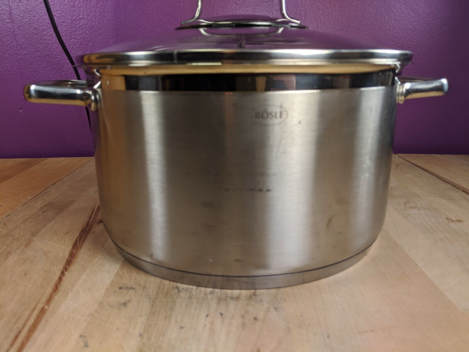 R SLE Pot Stainless Steel 18/10 5 Liter Pot Boiling Pot With Lid - $39.95