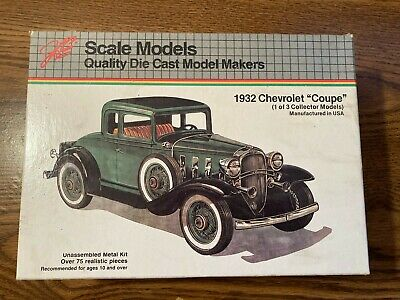 scale model car kit 4001 1932 Chevrolet Coupe Diecast Model-Sealed