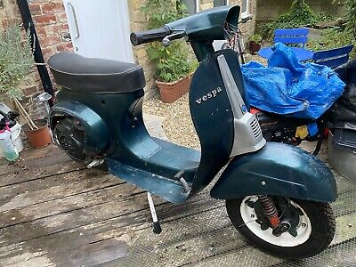 Vespa 50 Special Smallframe 130 Polini Engine, 125 registered Unfinished Project