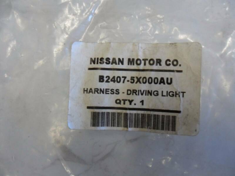 nissan navara d40 spanish genuine driving light wiring harness rh gumtree com au Engine Wiring Harness Engine Wiring Harness