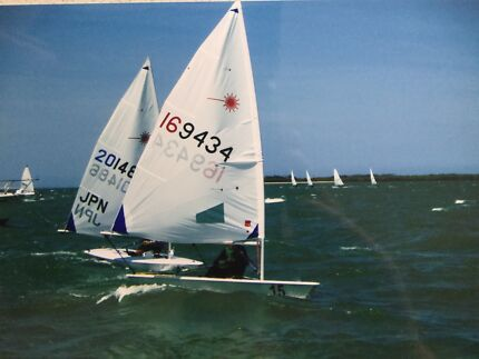 Laser Sailing Dinghy  169434