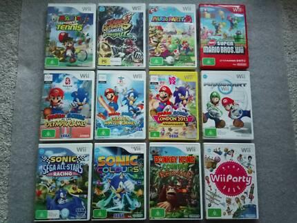 Wii Mario Sonic Zelda Kirby Sega Party 8 Donkey Kong Nintendo