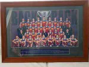 2002 brisbane lions premiership photo in frame Deakin South Canberra Preview