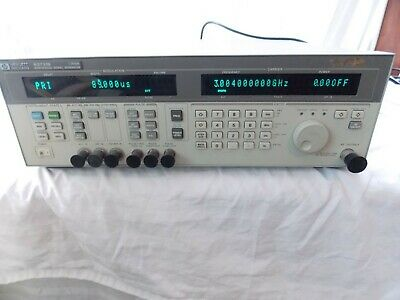 Hp Hewlett Packard 83731b Synthesized Signal Generator 1-20 Ghz Revised