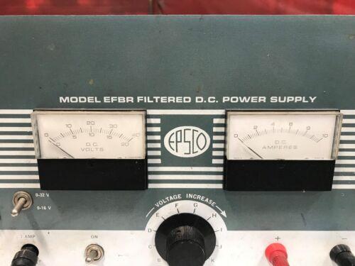 EPSCO Model EFBR Filtered DC Power Supply