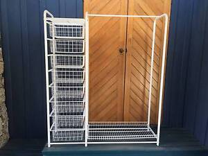 Metal Framed Clothes Storage Units Bendemeer Tamworth Surrounds Preview