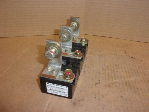 Allen Bradley Fuse Block 4012056811 , 200 amps