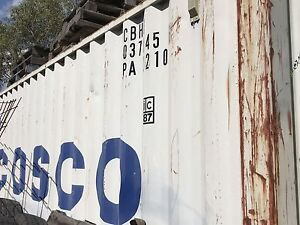 Seaworthy shipping container - 20ft Invermay Ballarat City Preview