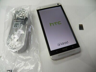 HTC One M7 - 32GB - Silver (SPRINT) Smartphone FREE SHIPPING.