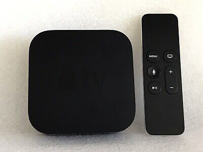 Apple TV 4th Generation 64GB HD Media Streamer - Model A1625