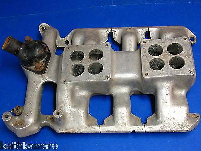 Vintage Edmunds Olds Dual Quad Intake Manifold 49 53 303 324  1953