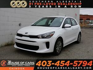 2018 Kia Rio LX+ w/ Heated Seats, Backup Camera, Bluetooth