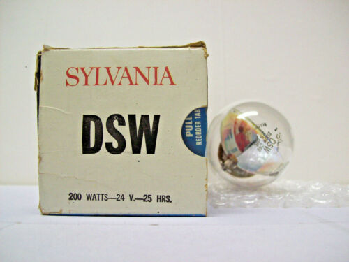 DSW Projector Projection Lamp Bulb Sylvania *AVG. 25-HR LAMP*