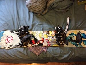 Snow board package for cheap