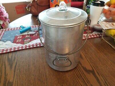 20 cups vintage Open Country Metal Ware  Corporation coffee percolator