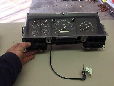 92 Ford F250 F350 Truck Instrument Speedo Cluster DIESEL
