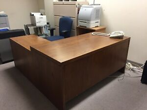 office desks and credenza