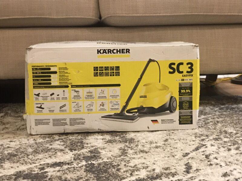 Karcher SC 3 EasyFix Steam Cleaner Yellow