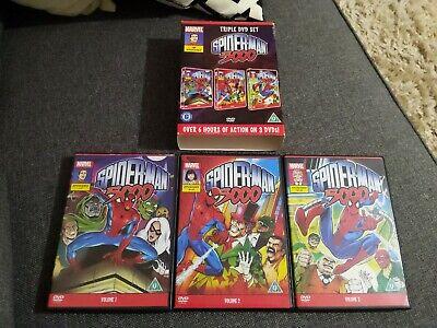 MARVEL SPIDER-MAN 5000 BOX SET 3 DISC DVD - SPIDERMAN 19 EPISODES