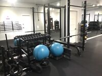 Private fitness studio space available or rent