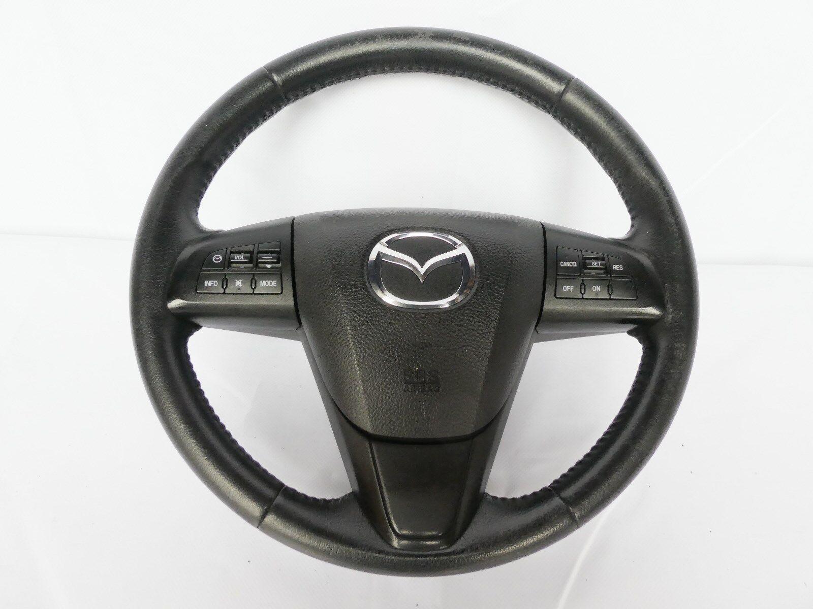 Mazda 6 III CX-5 5 CX SUV 2 3 Neu Beziehen Lenkrad Abgeflacht 2547-1-1