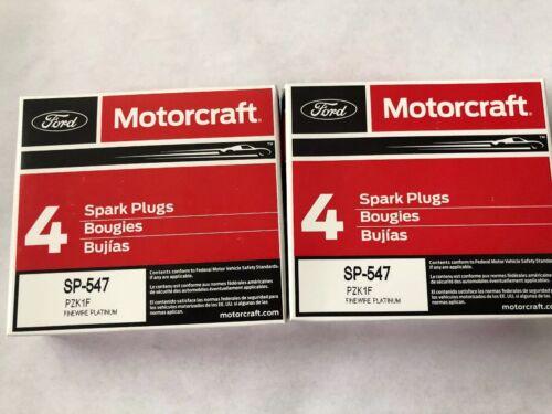 New Genuine OEM Motorcraft Platnum Copper Spark Plug SP-547 Ford PZK1F