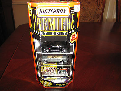 Matchbox Premiere First Edition 1st Shot 1998 Chevrolet Camaro SS conv - MIB LE