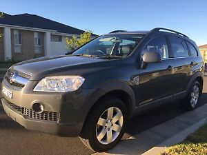 2009 MY10 HOLDEN CAPTIVA 7 SEATER, LOW KM, 17 REGO, FULL SERVICE Seven Hills Blacktown Area Preview