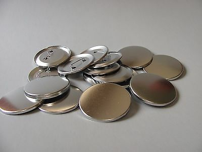 BLANK BUTTON PIN BACKS, pin blanks, pin supply, round pin supply, LOT pins (Blank Button Pins)