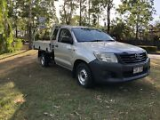2013 Toyota Hilux Workmate utility WITH WARRANTY Forest Lake Brisbane South West Preview