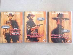 Clint Eastwood Dollars Trilogy - DVD's Shailer Park Logan Area Preview