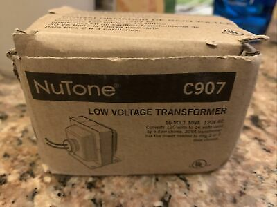 Nutone C907 Low Voltage Transformer