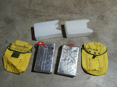 Anchor Industries Wildland Fire Shelter 1993 - Lot Of 2 - New