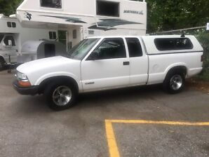 2002 Chevrolet S10 Extended Cab Pick Up